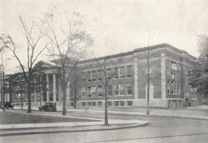New High School, 1928 - West Pittston