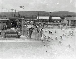West Pittston Pool, 1960's