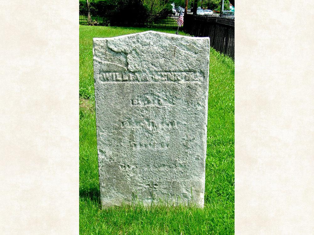 William Jenkins Gravestone