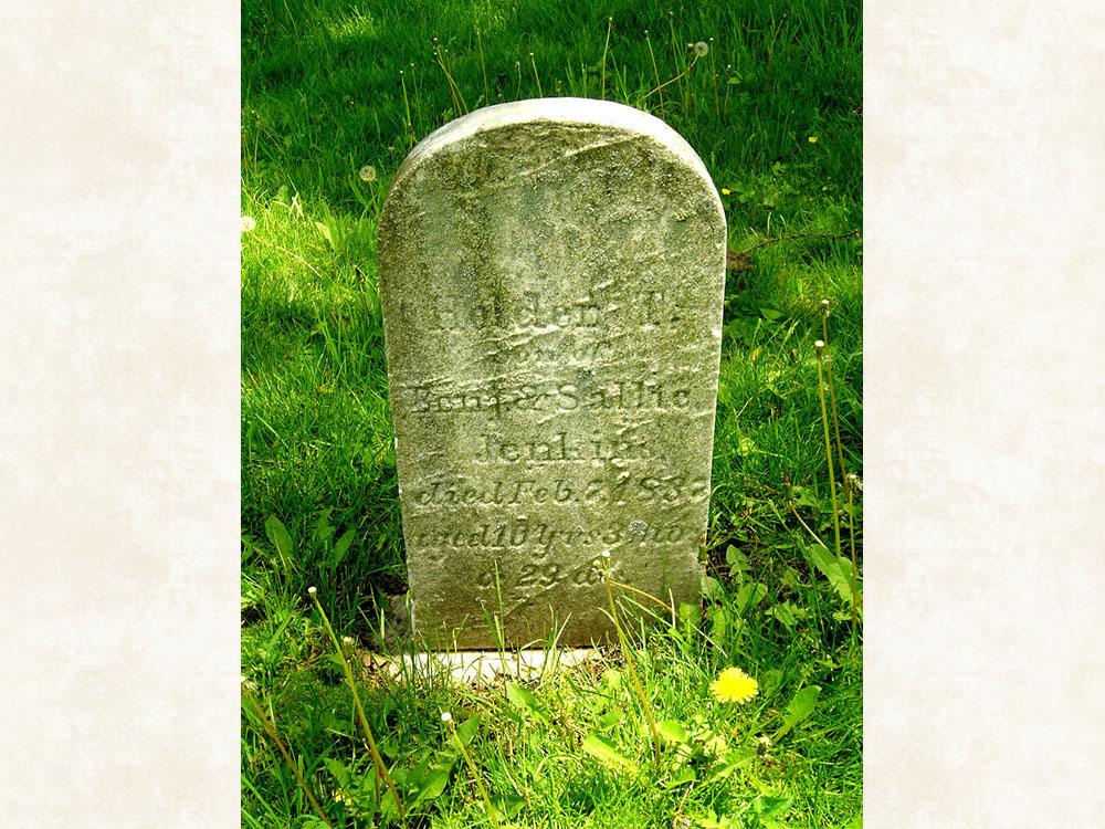 Holdern Tripp Jenkins Gravestone