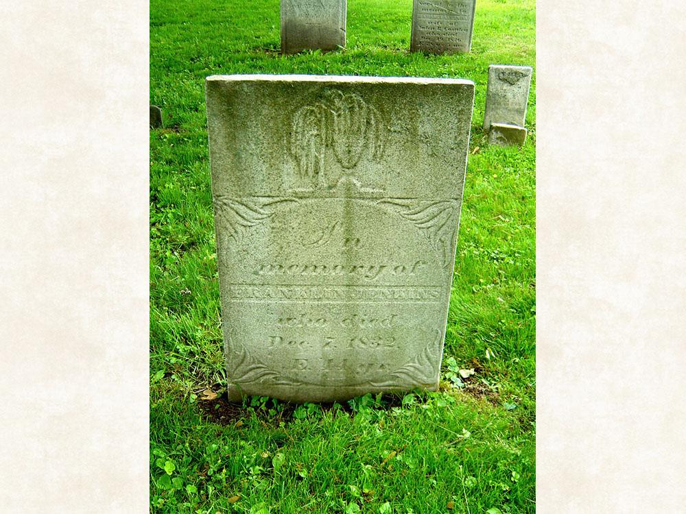 Franklin Jenkins Gravestone