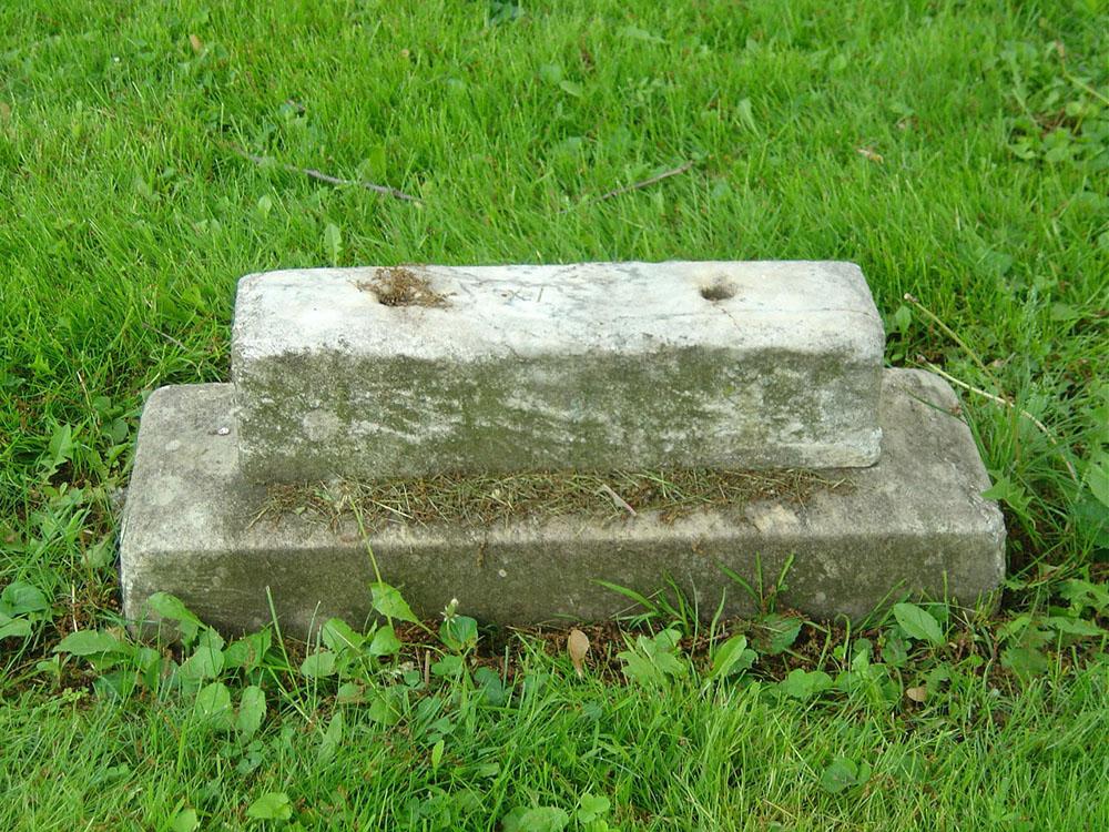 Sarah (Sallie) Tuttle Jenkins Gravestone