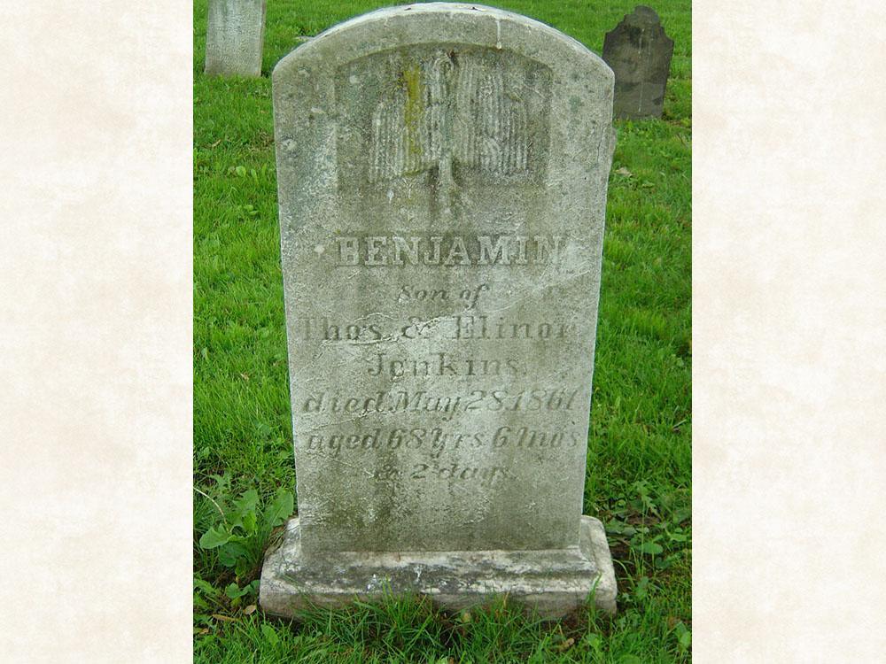 Benjamin Jenkins Gravestone