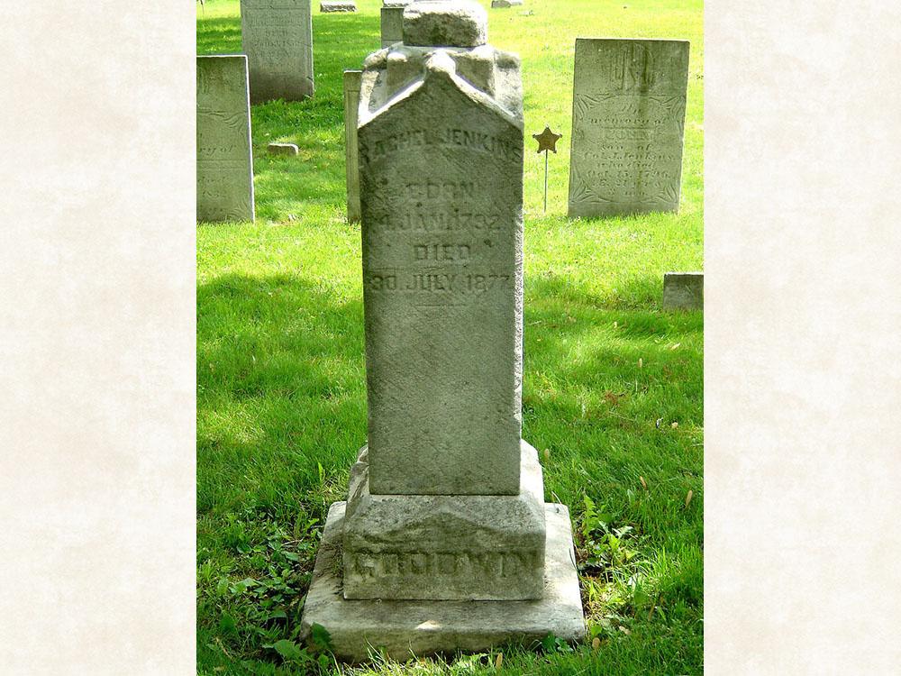 Rachel Jenkins Goodwin Gravestone