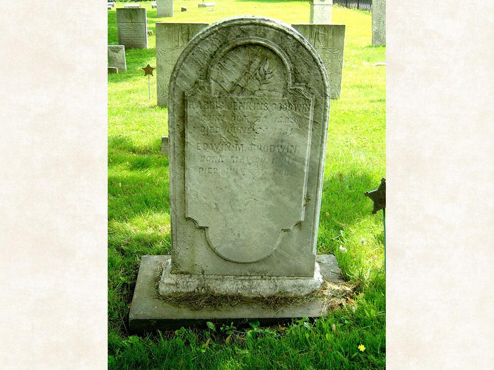 Harris Jenkins Goodwin Gravestone