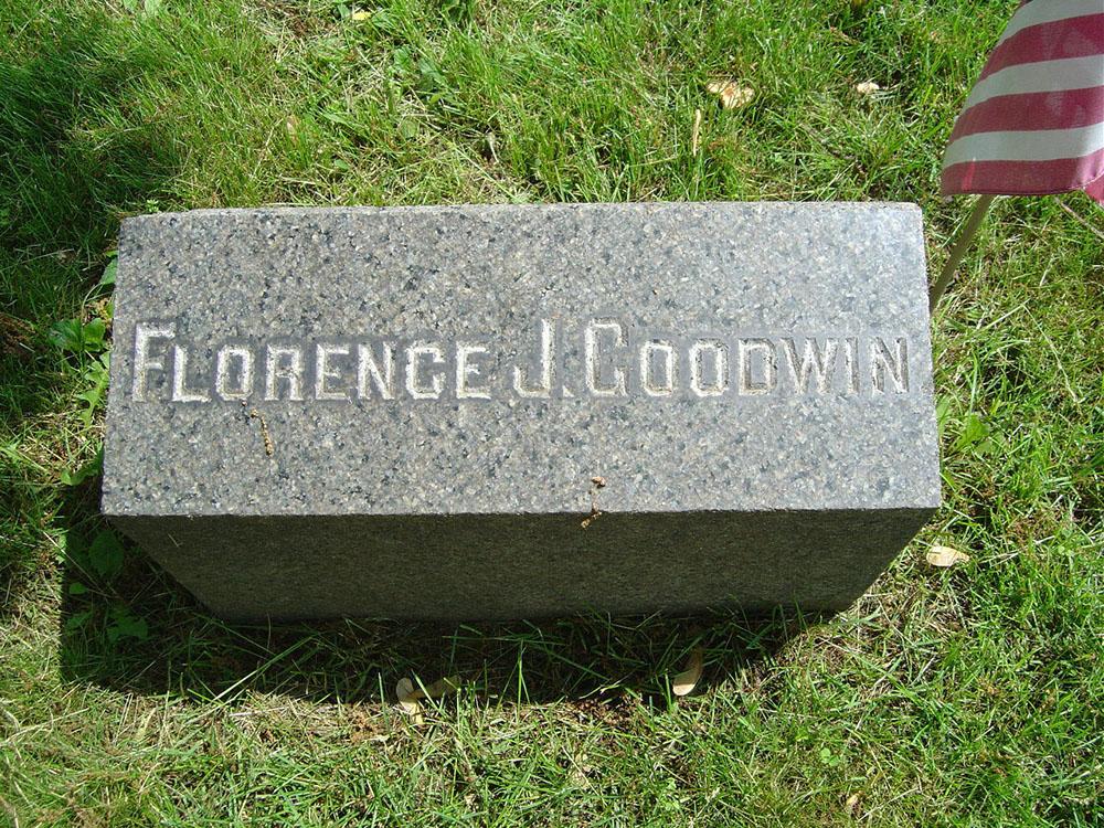 Florence Jenkins Goodwin Gravestone