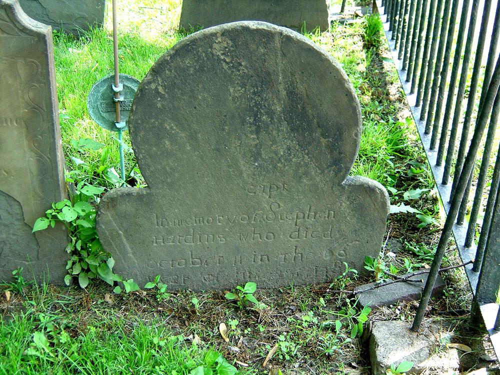 Capt. Stephen Harding Gravestone