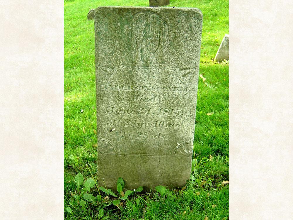 Anderson Scovell Gravestone