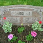 Audrey Jane Pembridge Gravestone